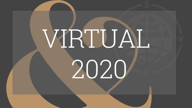 The Global Borrowers & Bond Investors Forum - Virtual 2020